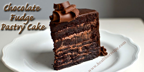 Chocolate Fudge Pastry Cake Recipe