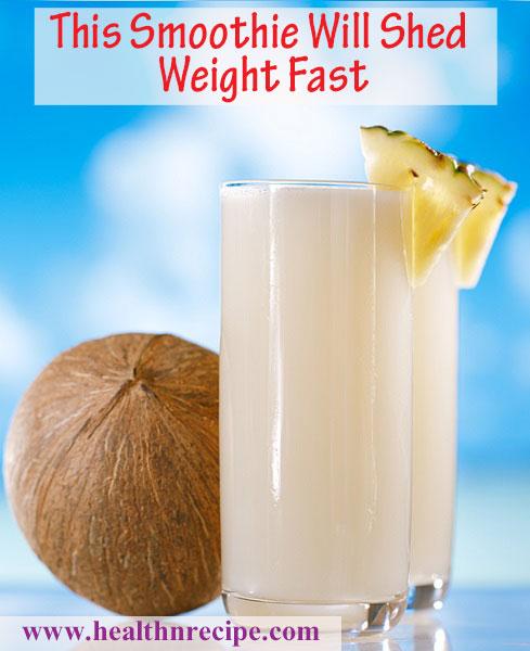 Coconut Pineapple Banana Smoothie