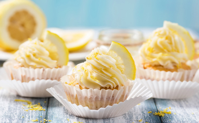 Lemon Cream Cupcakes