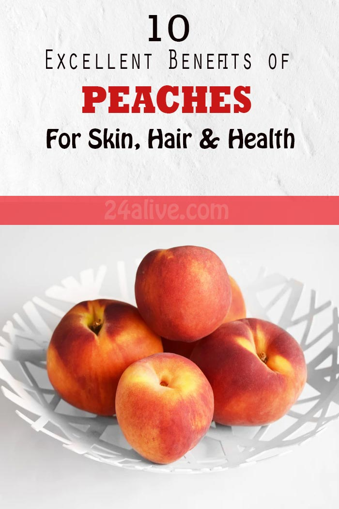 10 benefits of peaches for skin and health