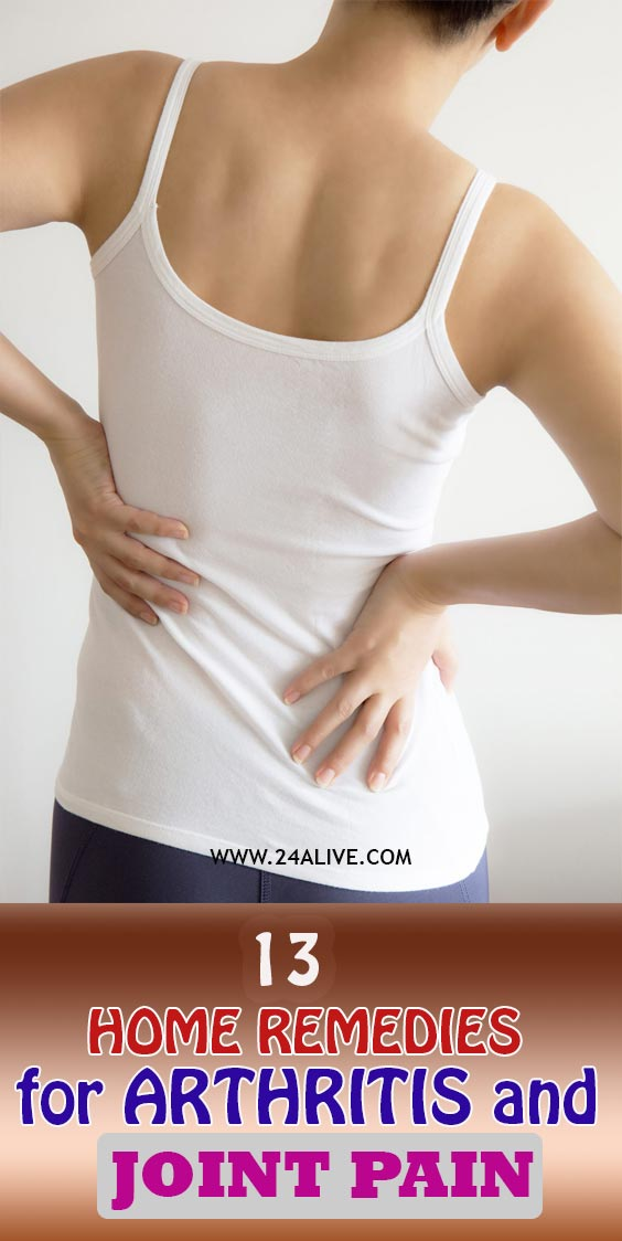 Home Remedies for Arthritis and Joint Pain