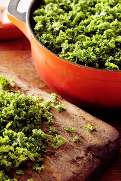 kale for skin clearing